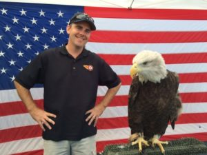 An American icon...next to an eagle.