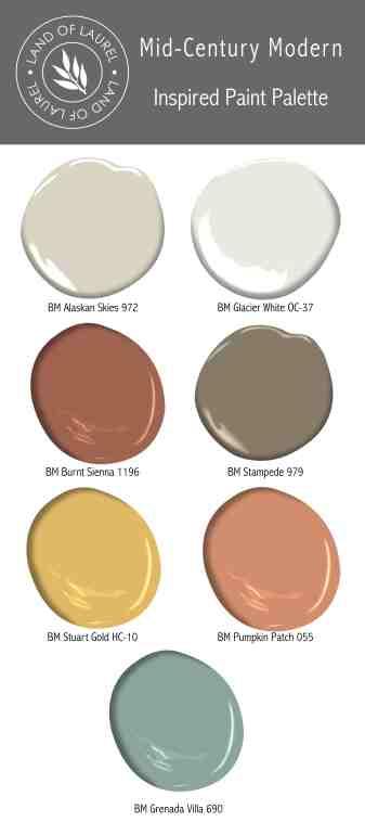 6 No Fail Whole House Paint Color Palettes Land Of Laurel