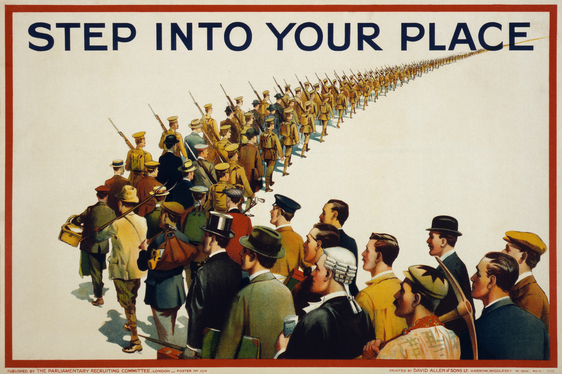 Image result for step in your place war propaganda