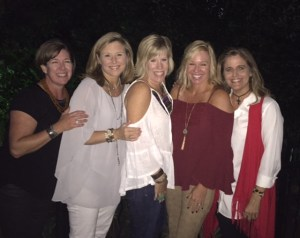 Me and my high school friends at our 30 year reunion recently. Susie of Susie's Coffee Cake is second from the left.