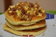 puok e med pancakes ricetta 39 confettura fichi uova strapazzate pepe bacon cipolla croccante