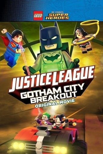 Nonton Movie Lego DC Comics Superheroes Justice League – Gotham City Breakout Sub Indo