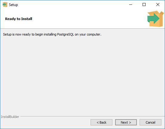Cara Install PostgreSQL