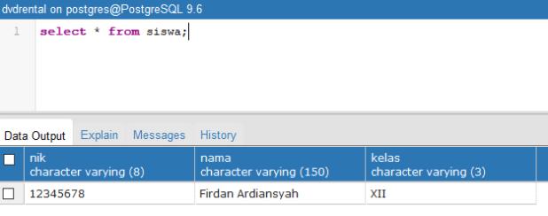 Tutorial Belajar PostgreSQL Insert