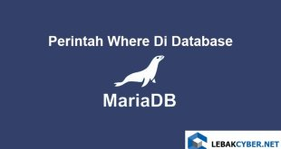 Perintah Where Di Database MariaDB