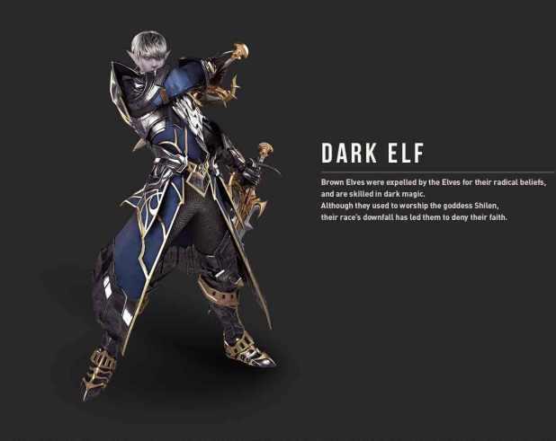 Penjelasan Kelas Dark Elf dan Dwarf di Lineage 2 Revolution