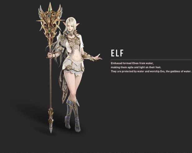 Penjelasan Kelas Human dan Elf di Lineage 2 Revolution