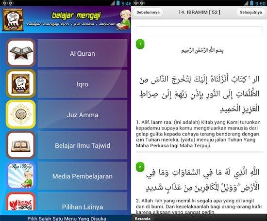 Aplikasi Belajar Mengaji Di Android