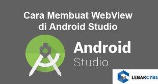 Cara Membuat WebView di Android Studio