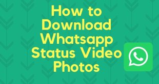 Cara Menyimpan Status WhatsApp