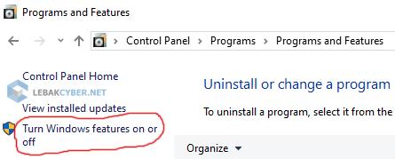 Mengaktifkan Command Linux Ubuntu Di Windows