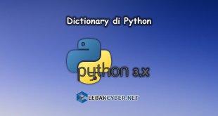 Belajar Python - Dictionary di Python
