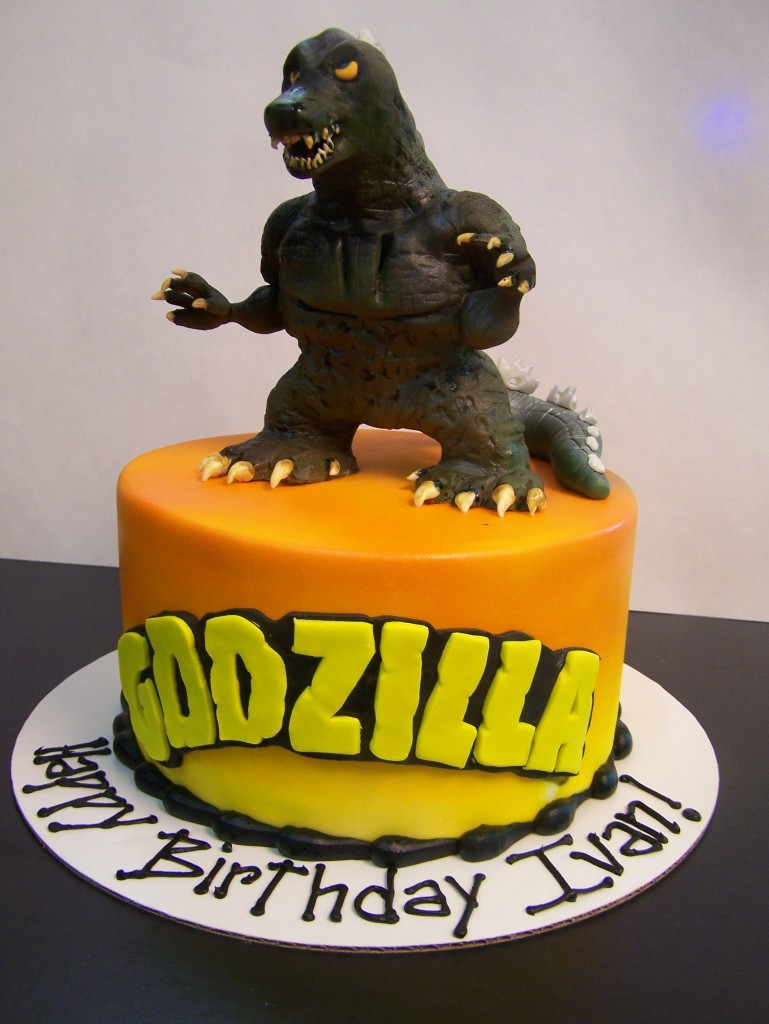 Godzilla Birthday Cake Le Bakery Sensual