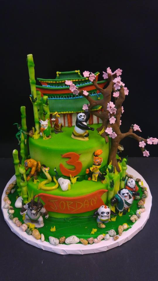 Women Denver Broncos Birthday Cake