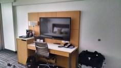 Espace bureau/TV au Coast de Nanaimo