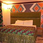 Single bedroom at Le Bambou Gorilla Lodge