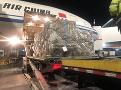 loading to Air China