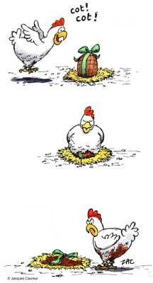poule-choco