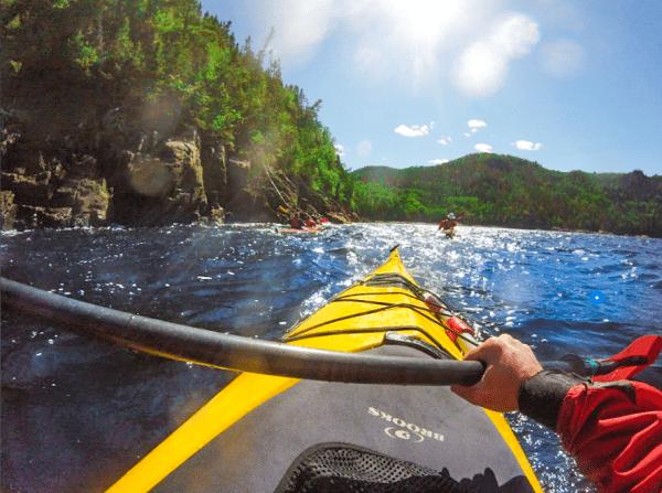 Road-trip Le Baroudeur Fjord en Kayak