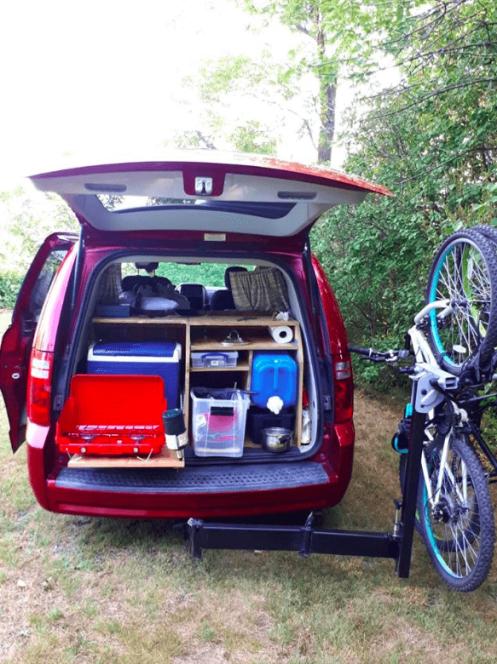 Embarque ton vélo grâce à notre rack !