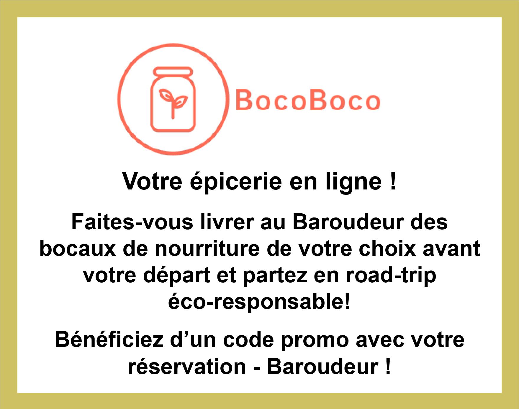 Partenariat avec BocoBoco pour partir en roadtrip écoreponsable avec des bocaux de nourriture
