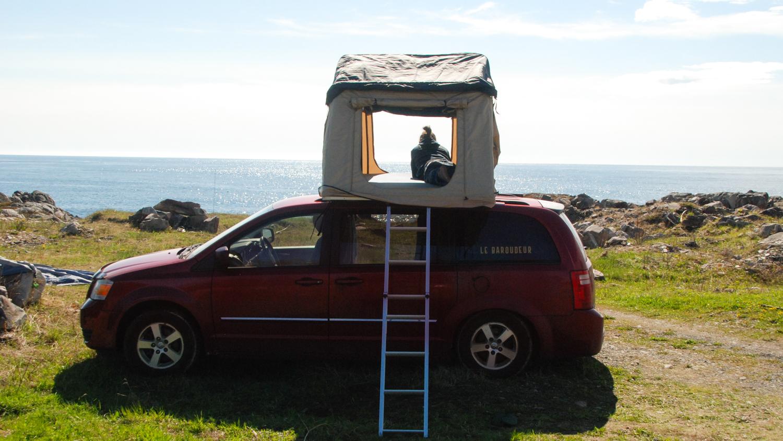 Découvrir la tente de toit et voyager au Québec
