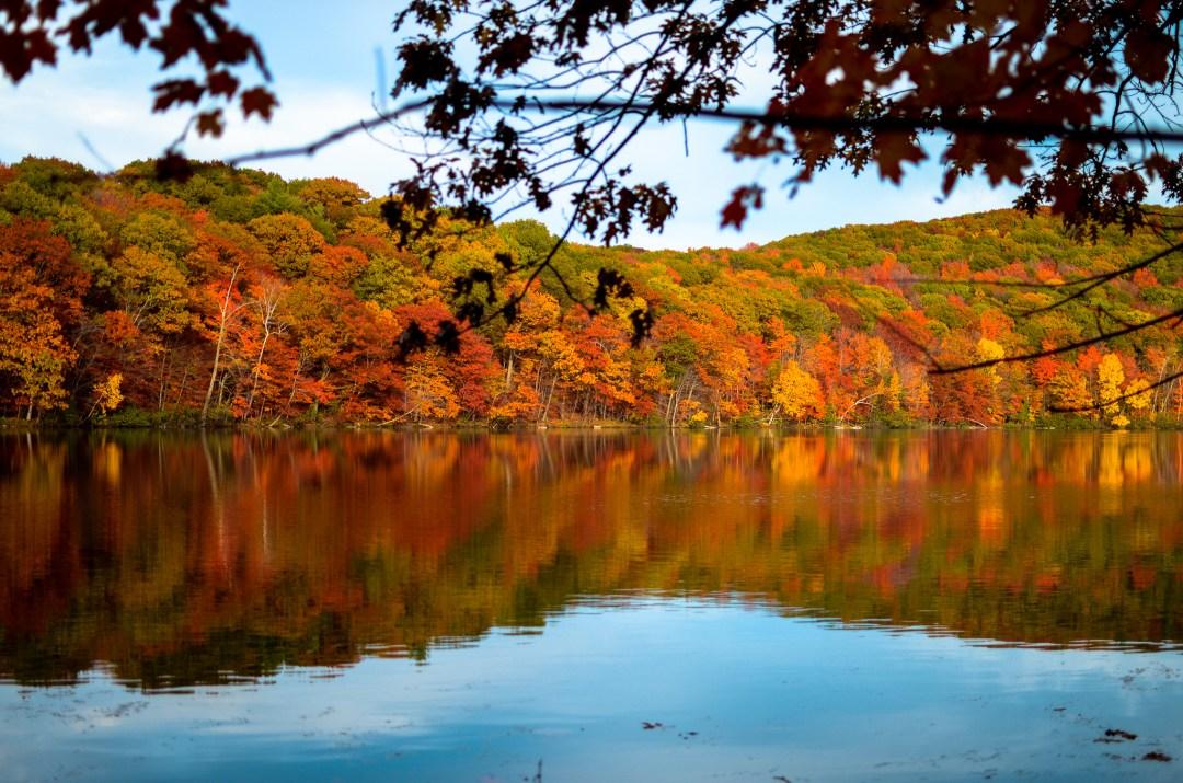 couleurs d'automne au Mont Bruno