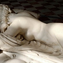 sleeping hermaphrodite, greek original from louvre museum - Le Bastart
