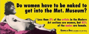 guerrilla girls - do women - le bastart