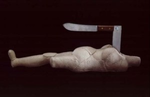 louise bourgeois - femme couteau - le bastart