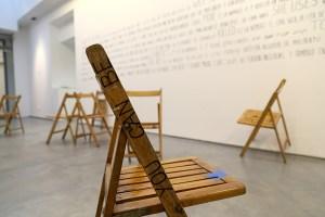la ribot - walk the chair - le bastart