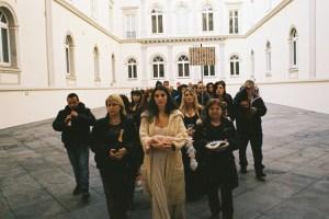 romina de novellis - sacra famiglia - le bastart