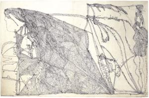 laure pigeon - drawing - le bastart