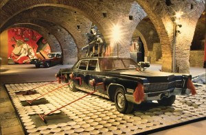 museo vostell - fiebre del automóvil - le bastart