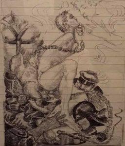 lorenza bottner - dibujo eros - le bastart