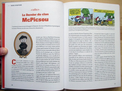Glenat-Picsou integrale-Don Rosa-Explications