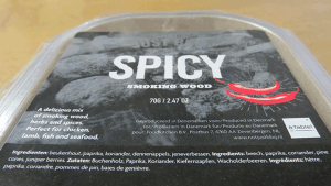 Warm roken met spicy smoking wood