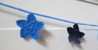 crocheter les restes de laine