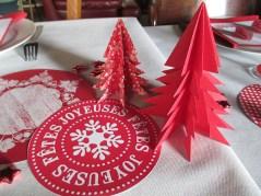 déco papier fait main Noël 2016