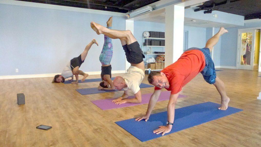 Yoga auf Sanibel, Florida