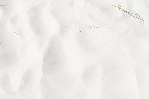 Yoga Hintergrundbild weißer Starnd