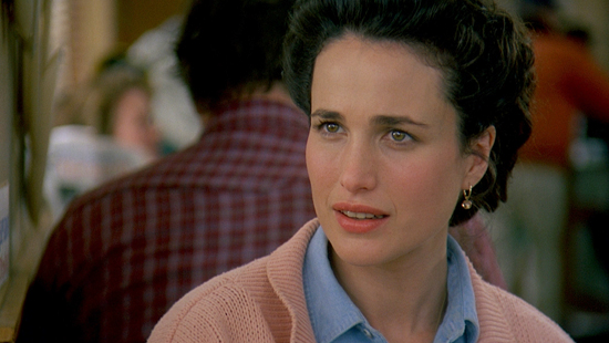 Beautiful films : Andie Macdowell's style in Groundhog Day