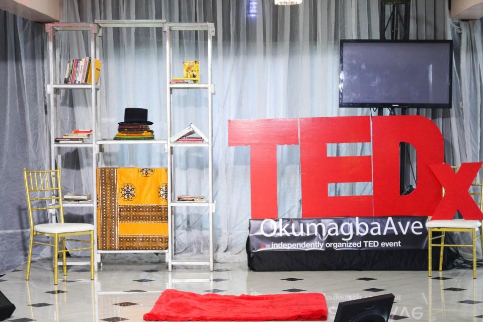 TEDx Okumagba Stage