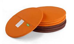 round outdoor poufs lebello mega spinball