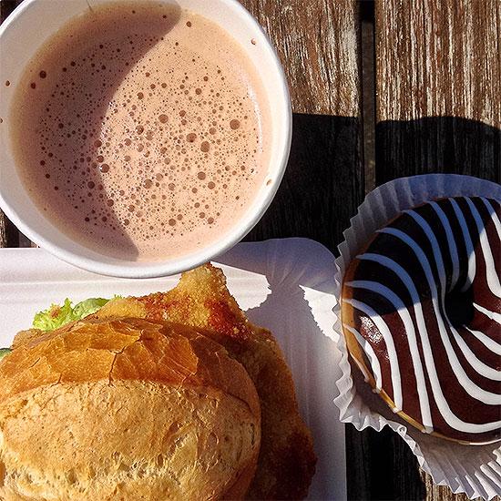 12 von 12 - Juni 2014 - Frühstückspause - 130 Minuten - Unterrichtsfrei - Uni - Cafeteria