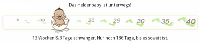 Schwangerschaft - Ticker - 13+3 - 14. SSW