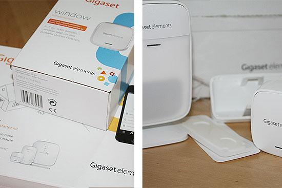 Gigaset elements safety starter kit im test - das Paket ist da