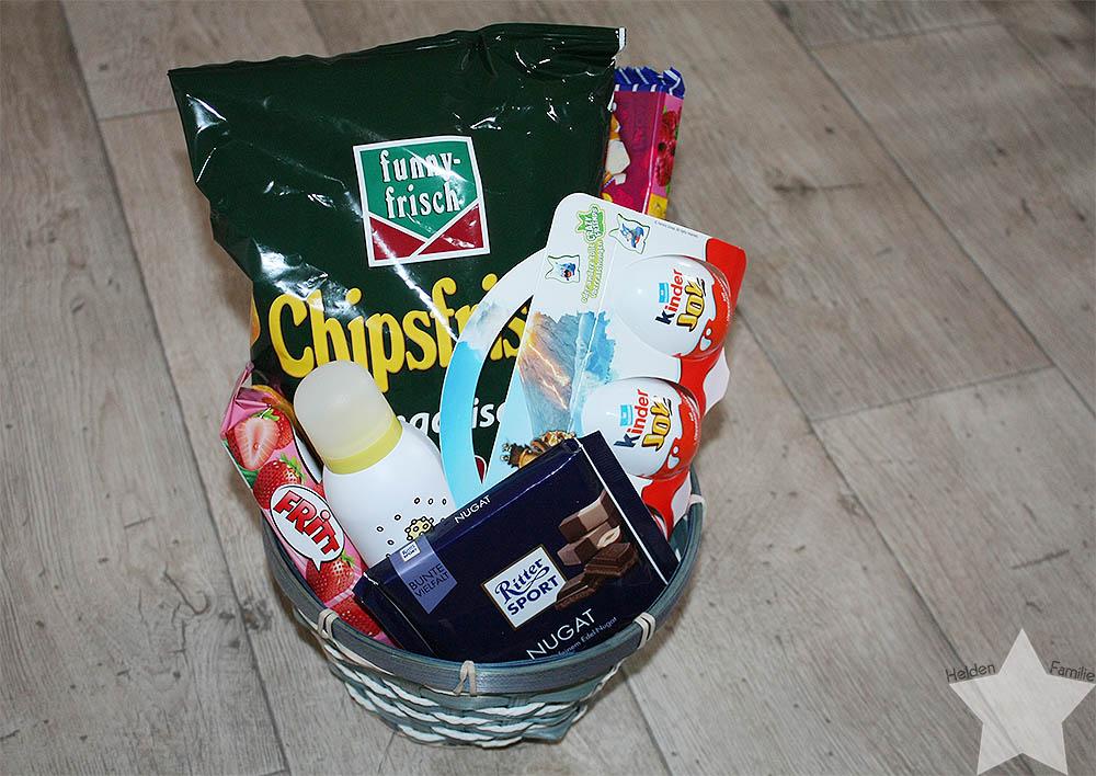 Geschenk zum Zeugnis - Ferien-chillaxing-Korb