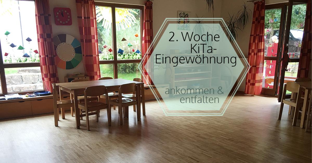 Eingewöhnung im Montessori Kinderhaus - 2. Woche