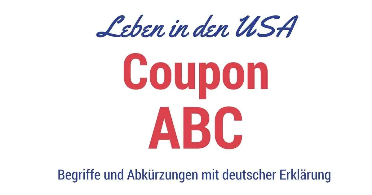 Couponing ABC